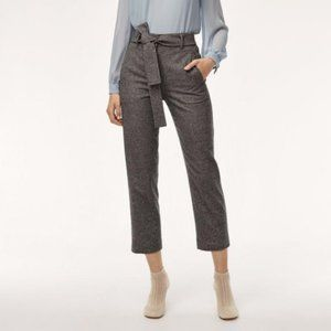 Wilfred Jallade Wool Cashmere Tie Front Trouser 2